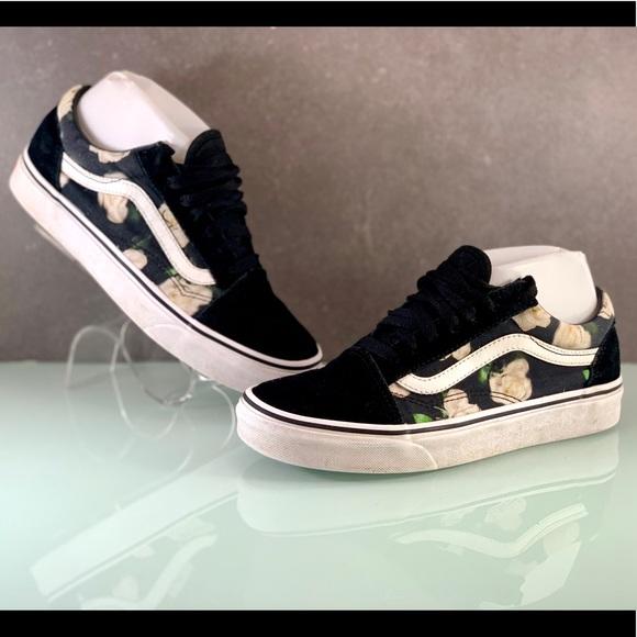 white rose vans - OFF62% - www